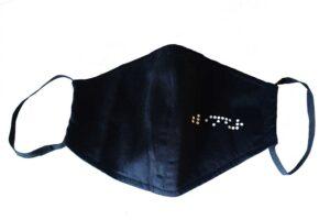 Mascherina con Logo Blindur Dettaglio